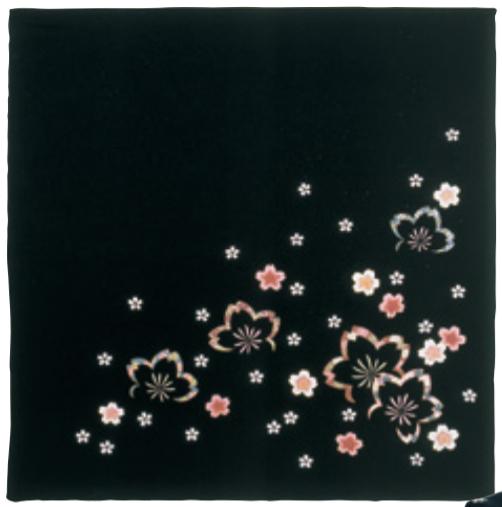 Sakura kuro furoshiki